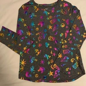 Girls size 12 long sleeve T-shirt